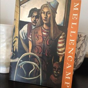 Mellencamp Paintings and Reflections Book